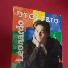 Coleccionismo Álbumes: ALBUM DE CROMOS INCOMPLETO. LEONARDO DICAPRIO. STICKER COLLECTIONS. FALTAN 23 CROMOS.. Lote 91195120