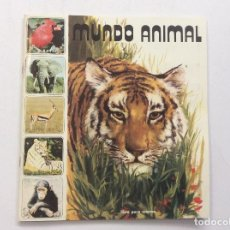 Coleccionismo Álbumes: ÁLBUM CROMOS MUNDO ANIMAL + SOBRE VACÍO . Lote 91812010