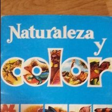 Coleccionismo Álbumes: EXCELENTE ALBUM NATURALEZA Y COLOR. TIENE 52 CROMOS. Lote 92155055
