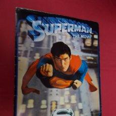 Coleccionismo Álbumes: ALBUM DE CROMOS INCOMPLETO. SUPERMAN THE MOVIE. FHER. ESTE. CONTIENE 80 CROMOS. . Lote 92266800