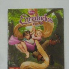 Coleccionismo Álbumes: ALBUM DE CROMOS. ENREDADOS DE DISNEY. STICKER ALBUM. 78 DE 205 CROMOS. PANINI. TDKR39. Lote 92451520