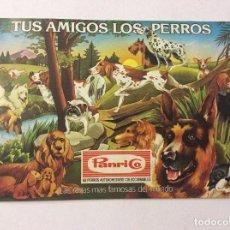 Coleccionismo Álbumes: ÁLBUM TUS AMIGOS LOS PERROS PANRICO. Lote 92798875