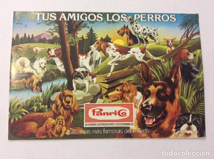 ÁLBUM TUS AMIGOS LOS PERROS PANRICO VACÍO (Coleccionismo - Cromos y Álbumes - Álbumes Incompletos)