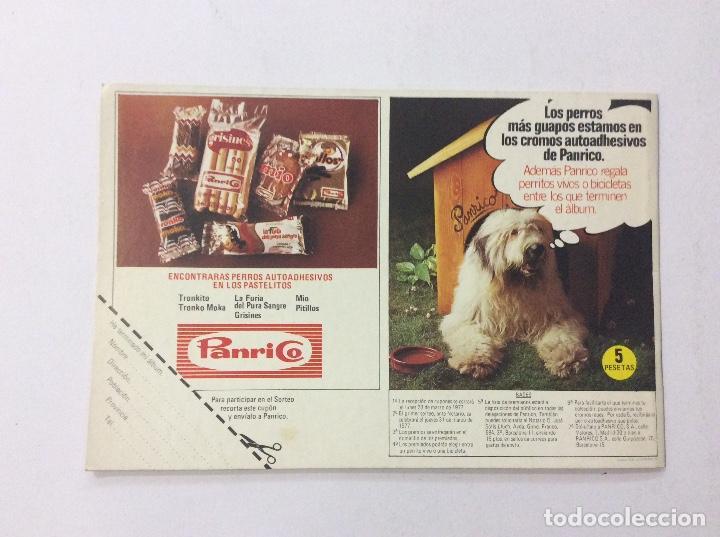 Coleccionismo Álbumes: ÁLBUM TUS AMIGOS LOS PERROS PANRICO VACÍO - Foto 5 - 92799035