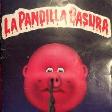 Coleccionismo Álbumes: ALBUM DE LA PANDILLA BASURA AÑO 89. Lote 93052244