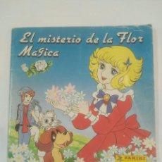 Coleccionismo Álbumes: EL MISTERIO DE LA FLOR MAGICA. ALBUM CROMOS INCOMPLETO PANINI 94 DE 240 CROMOS. TDKC24. Lote 93377095