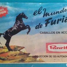 Coleccionismo Álbumes: ÁLBUM PANRICO EL MUNDO DE FURIA. FALTAN SOLO 4 CROMOS . Lote 93923158