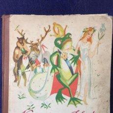 Coleccionismo Álbumes: ALBUM CROMOS NESTLÉ 1933 NARRACIONES SELECTAS, FALTAN 13 CROMOS DE 144, BUEN ESTADO 29 X 23 CMS. Lote 94120585