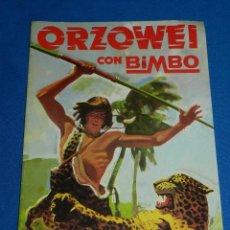 Coleccionismo Álbumes: ALBUM PLANCHA - ORZOWEI CON BIMBO 1978 , BUEN ESTADO. Lote 94366674