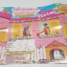 Coleccionismo Álbumes: ALBUM DE CROMOS DE CHICLES BARBIE VIDAL ( MOLINA DE SEGURA). Lote 94595851