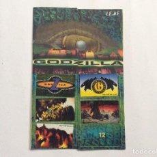 Coleccionismo Álbumes: ÁLBUM GODZILLA CHICLE HINCHABLE. Lote 94843771