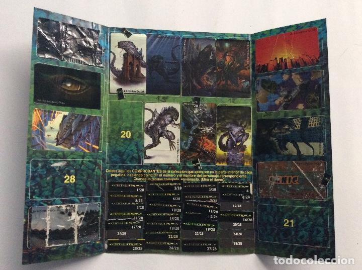 Coleccionismo Álbumes: ÁLBUM GODZILLA CHICLE HINCHABLE - Foto 2 - 94843771