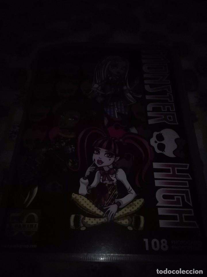 ALBUM MONSTER HIGH. 108. PHOTOCARDS. 50 PANINI. VACIO SIN CROMOS. (Coleccionismo - Cromos y Álbumes - Álbumes Incompletos)