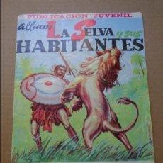 Coleccionismo Álbumes: ALBUM LA SELVA Y SUS HABITANTES 1967 - EDICIONES COSTA - MURCIA. Lote 95820699