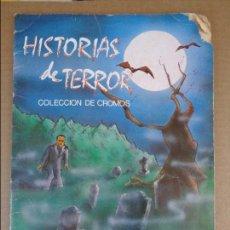Coleccionismo Álbumes: ALBUM HISTORIAS DE TERROR - EDIVERSA. Lote 95821043