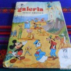 Coleccionismo Álbumes: GALERÍA WALT DISNEY INCOMPLETO FALTAN 37 CROMOS DE 220. FHER 1972.. Lote 95824691