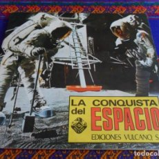 Coleccionismo Álbumes: LA CONQUISTA DEL ESPACIO INCOMPLETO CON 81 DE 270 CROMOS. VULCANO 1974.. Lote 95825103