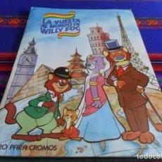 Coleccionismo Álbumes: MUY BUEN ESTADO. LA VUELTA AL MUNDO DE WILLY FOG INCOMPLETO CON 73 DE 200 CROMOS. MAGA 1983.. Lote 95825807