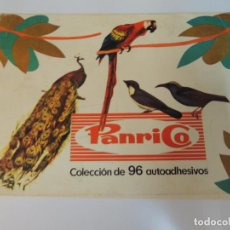 Coleccionismo Álbumes: ALBUM CROMOS PAJAROS PANRICO AÑO 1972 BIRDS INCOMPLETO FALTAN 35 CROMOS. Lote 96225163