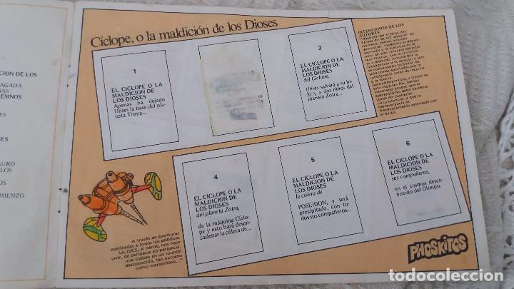 Coleccionismo Álbumes: Ulises 31 phoskitos ÁLBUM vacío no plancha. Ver fotografías - Foto 12 - 96489399