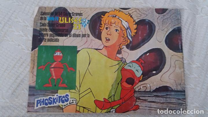 Coleccionismo Álbumes: Ulises 31 phoskitos ÁLBUM vacío no plancha. Ver fotografías - Foto 18 - 96489399