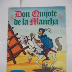 Coleccionismo Álbumes: ALBUM DE CROMOS INCOMPLETO. DON QUIJOTE DE LA MANCHA. DANONE. TDKC5. Lote 97218103
