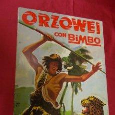 Coleccionismo Álbumes: ALBUM DE CROMOS INCOMPLETO. ORZOWEI CON BIMBO. FALTAN 60 CROMOS. Lote 97459135