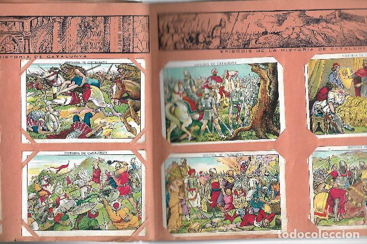 Coleccionismo Álbumes: ÁLBUM HISTORIA DE CATALUNYA. CON 146 CROMOS. XOCOLATA JUNCOSA. AÑOS 30 BASTANTE BIEN CONSERVADO - Foto 2 - 97665431