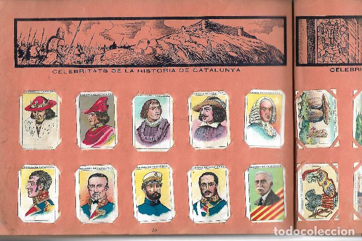 Coleccionismo Álbumes: ÁLBUM HISTORIA DE CATALUNYA. CON 146 CROMOS. XOCOLATA JUNCOSA. AÑOS 30 BASTANTE BIEN CONSERVADO - Foto 3 - 97665431
