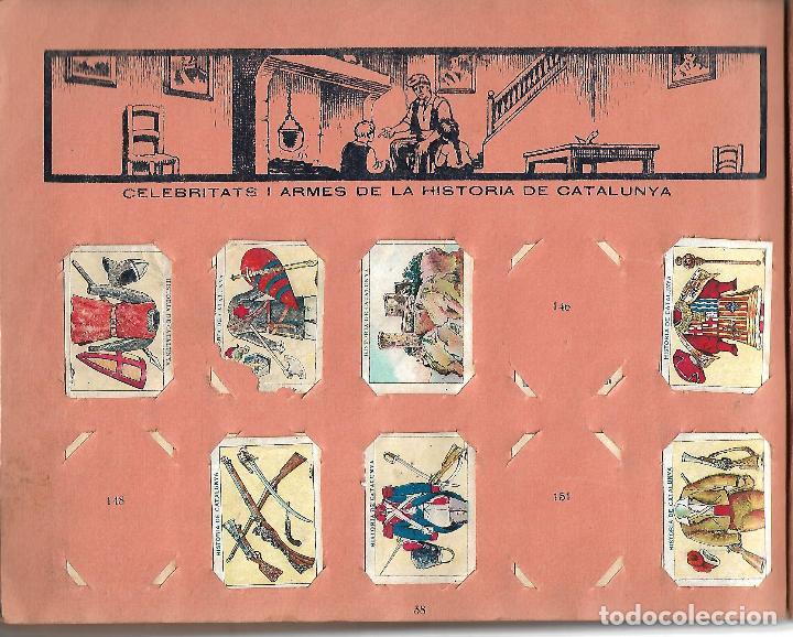 Coleccionismo Álbumes: ÁLBUM HISTORIA DE CATALUNYA. CON 146 CROMOS. XOCOLATA JUNCOSA. AÑOS 30 BASTANTE BIEN CONSERVADO - Foto 4 - 97665431