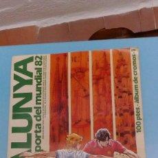 Coleccionismo Álbumes: ALBUM CATALUNYA PORTA DEL MUNDIAL 82 DE 1981 ENCICLOPEDIA CATALANA LE FALTAN 39 CROMOS. Lote 98147483