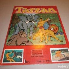 Coleccionismo Álbumes: ALBUM TARZAN DE FHER CON UN 80 % DE CROMOS BUEN ESTADO VER FOTOS. Lote 98871463