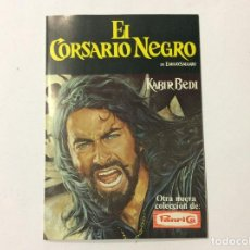 Coleccionismo Álbumes: ÁLBUM EL CORSARIO NEGRO PANRICO. Lote 98918687
