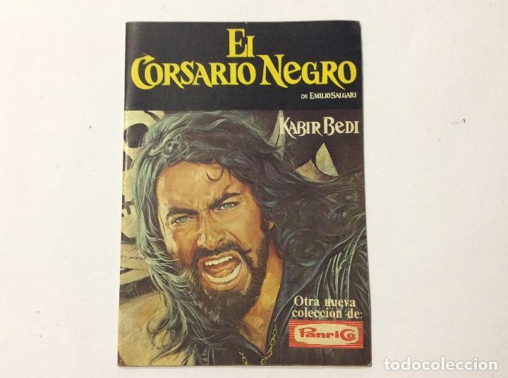 ÁLBUM EL CORSARIO NEGRO PANRICO VACÍO (Coleccionismo - Cromos y Álbumes - Álbumes Incompletos)