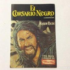 Coleccionismo Álbumes: ÁLBUM EL CORSARIO NEGRO PANRICO VACÍO. Lote 98919183