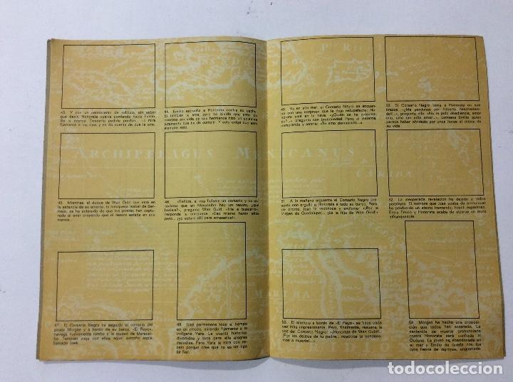 Coleccionismo Álbumes: ÁLBUM EL CORSARIO NEGRO PANRICO VACÍO - Foto 2 - 98919183
