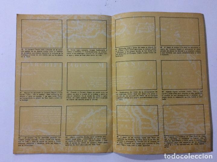 Coleccionismo Álbumes: ÁLBUM EL CORSARIO NEGRO PANRICO VACÍO - Foto 3 - 98919183
