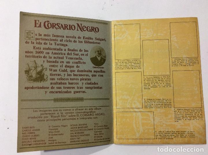 Coleccionismo Álbumes: ÁLBUM EL CORSARIO NEGRO PANRICO VACÍO - Foto 4 - 98919183