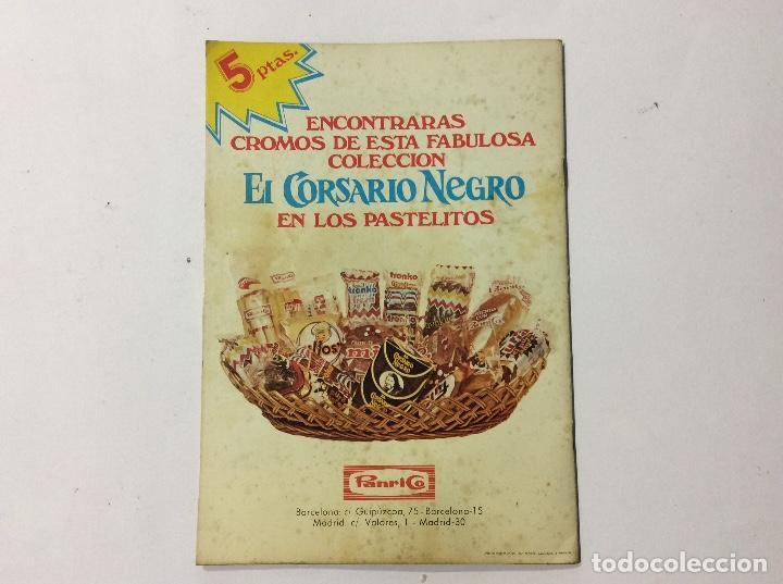 Coleccionismo Álbumes: ÁLBUM EL CORSARIO NEGRO PANRICO VACÍO - Foto 6 - 98919183