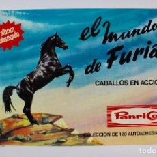 Coleccionismo Álbumes: ALBUM DE CROMOS EL MUNDO DE FURIA, PANRICO. 1973.. Lote 99533211