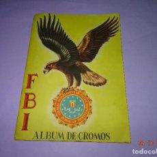 Coleccionismo Álbumes: ANTIGUO ALBUM DE CROMOS *FBI* DE LA EDITORIAL ROLLAN - AÑO 1950S.. Lote 99545199