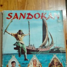Coleccionismo Álbumes: SANDOKAN ALBUM. Lote 99635362