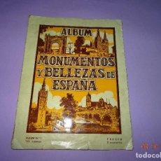 Coleccionismo Álbumes: ANTIGUO ALBUM *MONUMENTOS Y BELLEZAS DE ESPAÑA* ALBUM Nº 1 DE CASULLERAS. Lote 99690627
