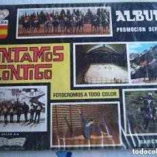 Coleccionismo Álbumes: CONTAMOS CONTIGO. GOLED S.A. Lote 99832523