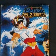 Coleccionismo Álbumes: ALBUM LOS CABALLEROS DEL ZODIACO. Lote 100072031