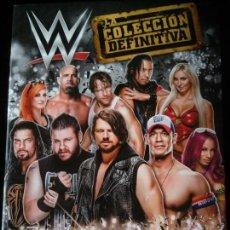 Coleccionismo Álbumes: ALBUM WWE LA COLECCIÓN DEFINITIVA TOPPS 2017. Lote 257748990