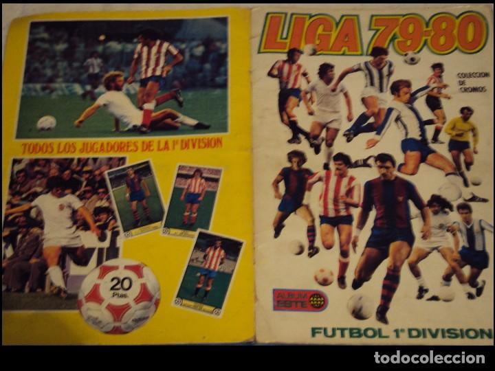 ALBUM LIGA 79 - 80 EDICCIONES ESTE. (Coleccionismo - Cromos y Álbumes - Álbumes Incompletos)