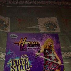 Coleccionismo Álbumes: ALBUM HANNAH MONTANA, THE MOVIE. EDITORIAL PANINI. VACÍO. Lote 100553399