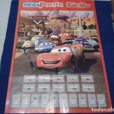 Coleccionismo Álbumes: ALBUM MEGA POSTER ALBUM TOSTA RICA DE LA PELICULA CARS 2006 MIDE 60 X 42 SIN CROMOS. Lote 100573211