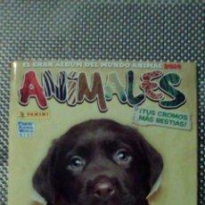 Coleccionismo Álbumes: ÁLBUM ANIMALES 2014 INCOMPLETO. Lote 100637146